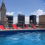 great views from the roof top pool