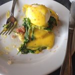 Best version of eggs benedict ever-ahi eggs benedict.