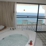 View from Romance Suite with Jacuzzi