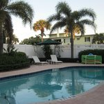 Swimming pool and spacious patio