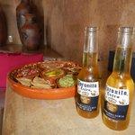 Welcoming Cornitas and Snacks