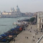 View from the terrace towards della Salute