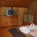 Villa Boska Palic Apartment 2 TV Set