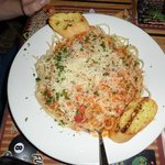 Pasta with creamy lobster sauce