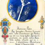Il mio storico attestato di Pio 11esimo