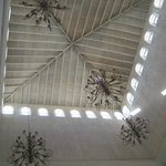 Ceiling in lobby area