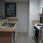 Kitchen and bar(left side)