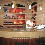 Small but beautiful bar in hotel