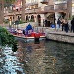 River walk boat tour.