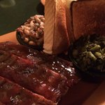 St.Louis Ribs, Turnip Greens, Black Eyed Peas, Texas Toast!