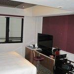 Room showing TV