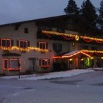 The Alpen Rose decked out for Christmas
