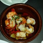 Olio chilly prawn simple appetizer...