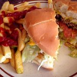 Green Chile Cheesburger