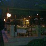 Charming Komaneka cafe