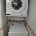Washer and Dryer! very convenient.