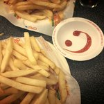 Fries with a smile :)