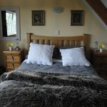 Very comfortable bedroom upstairs in the mezzanine