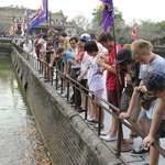 Visiting Imperial City in Hue
