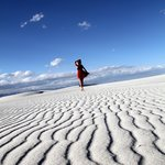 White Sands- perfect place for good photo sessions.