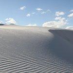 White sands dunes.