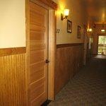 Hallway & room door