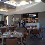 Interior with open plan kitchen