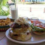 Nice lunch in Jill Cafe
