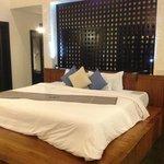 Huge bed - Villa 2...so comfortable