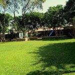 green soothing lawns at Karjat Heritage