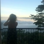 View from Room 206 - above the clouds