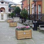 St. Paul's Church garden at Covent Garden