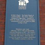 St. Paul's Church - sign