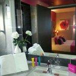 Salle de bains de la suite...
