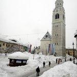 Рекордный снег в Альпах