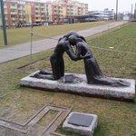 Statue sponsored by richard branson