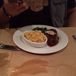 Mac&cheese and fillet mignon