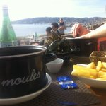 Moules frites extra!