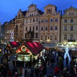 Christmas markets in old town square
