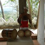 The temple drummer