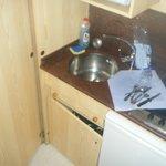 meuble cuisine cassé