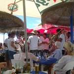July 2013 - local band at the Chiringuito on the beach
