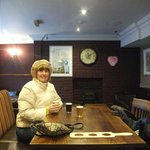 The fun started from the minute we walked into the Crown Inn.