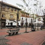Plaza in the Albayzin (a market is held here every Sunday)