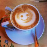 Cappuccino de bienvenue.