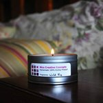Soy Candle helps eliminate the 'closed room' smell.