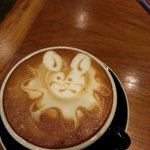 The amazing coffee art