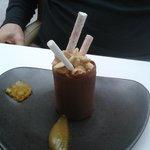 Spoon caramel et pommes confites en variation de textures