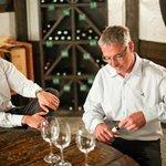 Sie befinden sich in einem der besten Weinanbaugebiete der Welt