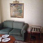 Superior Suite - Wohnbereich - Esstisch